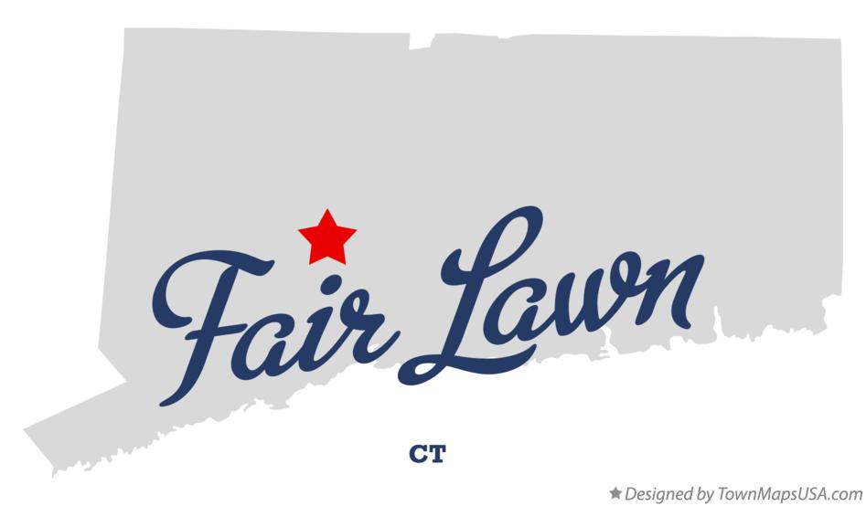 Map of Fair Lawn Connecticut CT