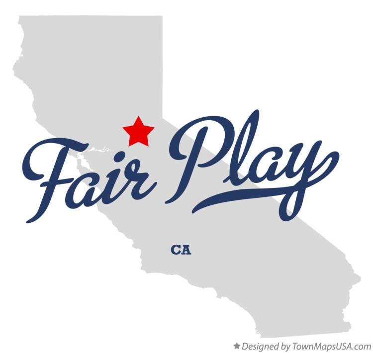 Map of Fair Play California CA