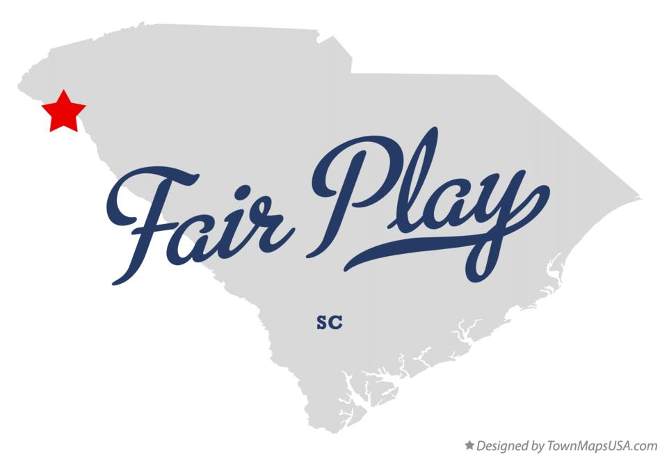 Map of Fair Play South Carolina SC