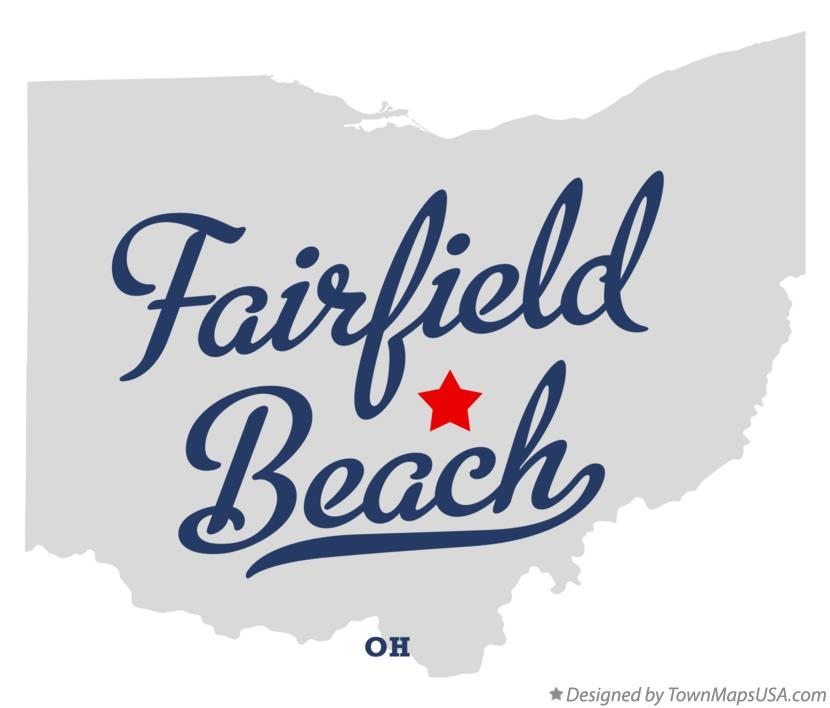 Map of Fairfield Beach Ohio OH