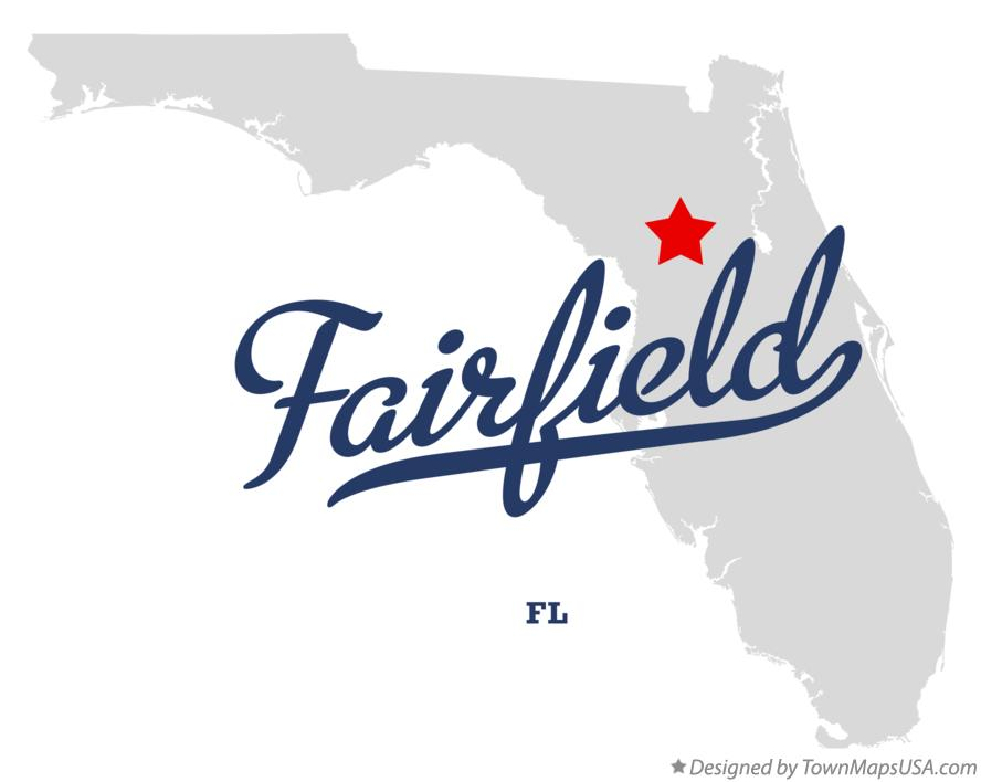 Map of Fairfield Florida FL