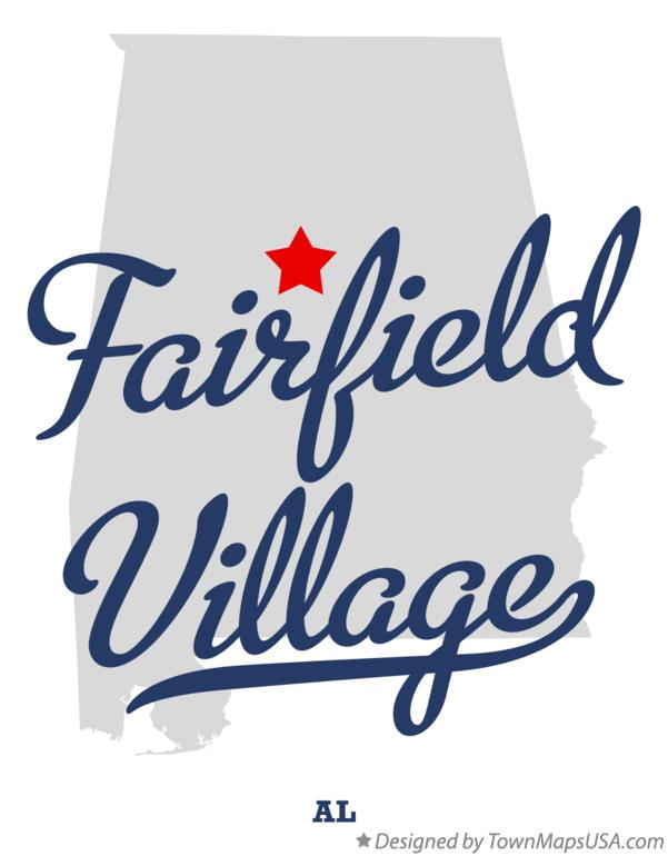 Map of Fairfield Village Alabama AL