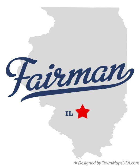 Map of Fairman Illinois IL