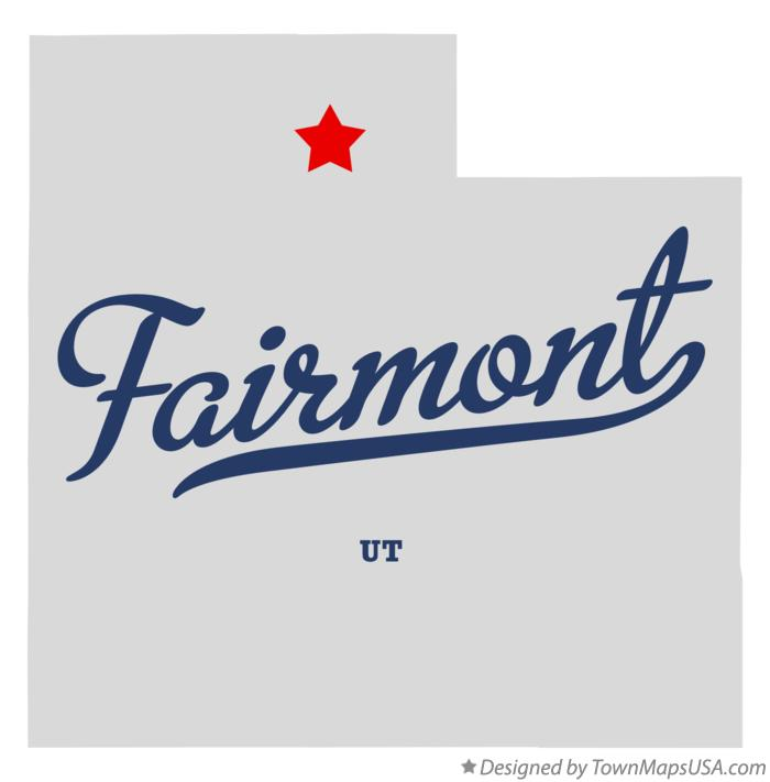 Map of Fairmont Utah UT
