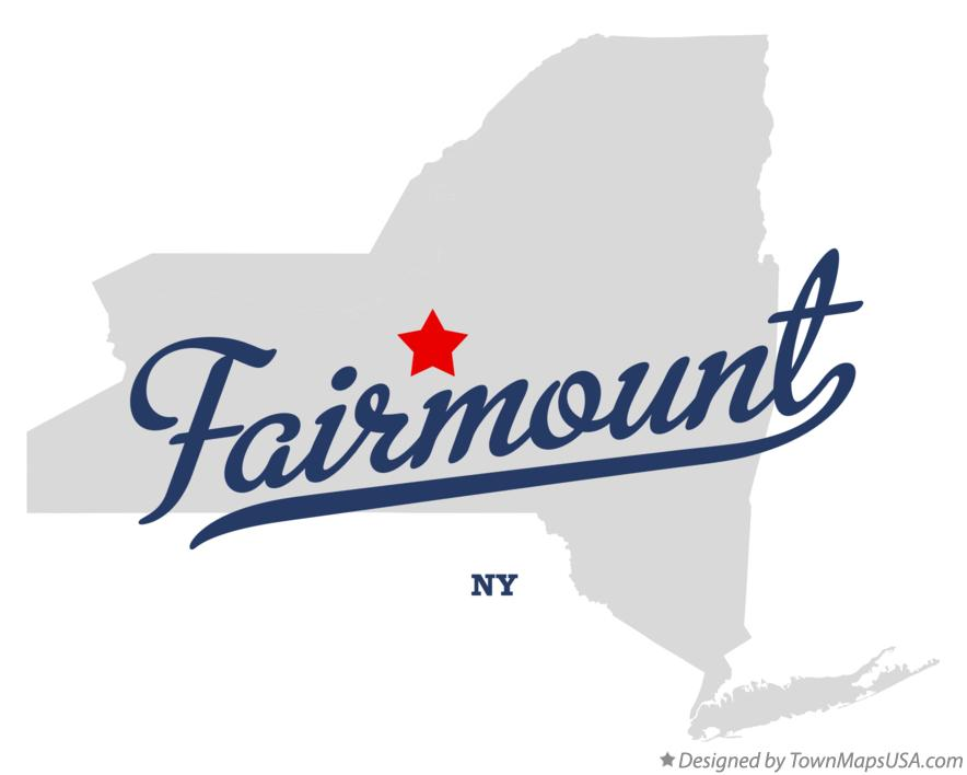 Map of Fairmount New York NY