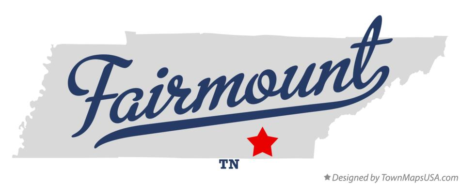 Map of Fairmount Tennessee TN