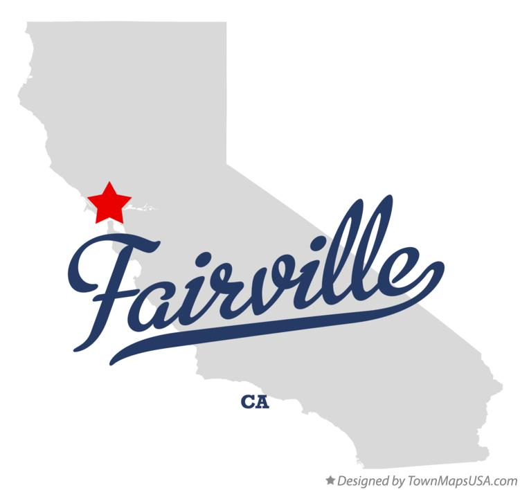 Map of Fairville California CA
