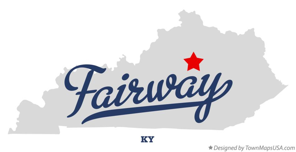 Map of Fairway Kentucky KY