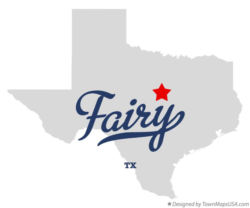Map of Fairy Texas TX