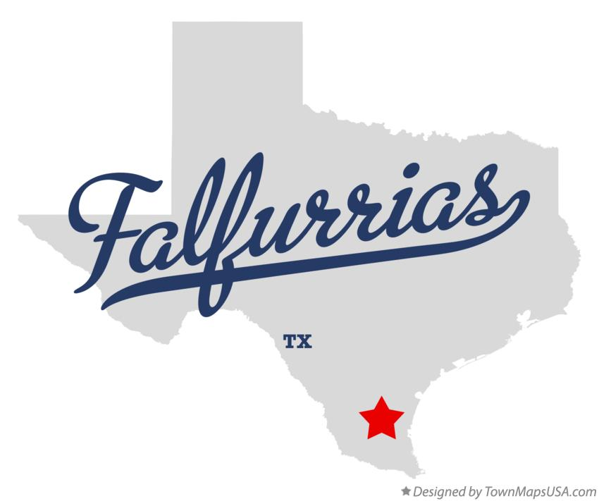 Map of Falfurrias Texas TX
