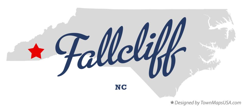 Map of Fallcliff North Carolina NC