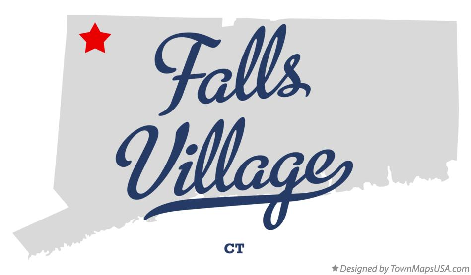 Map of Falls Village Connecticut CT