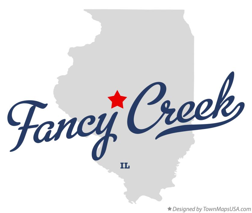 Map of Fancy Creek Illinois IL