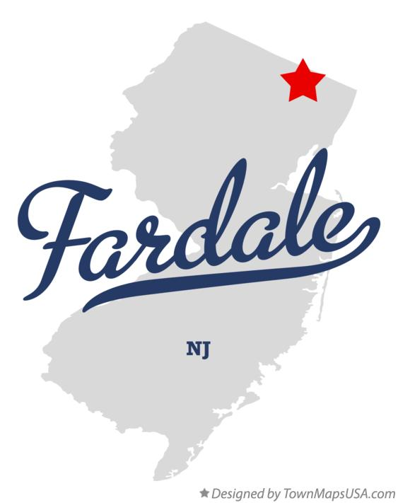 Map of Fardale New Jersey NJ