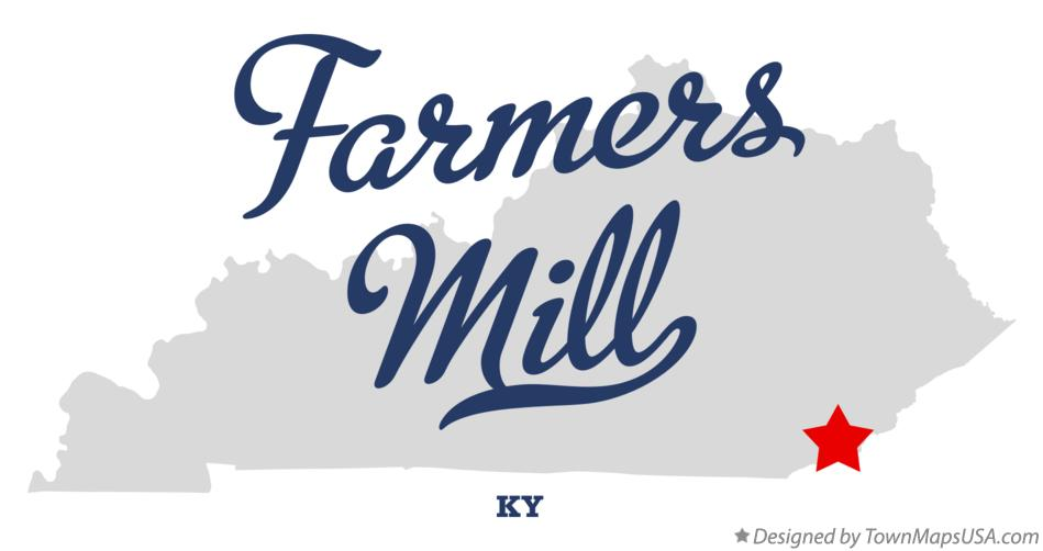 Map of Farmers Mill Kentucky KY