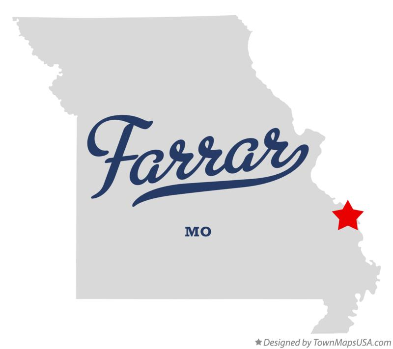 Map of Farrar Missouri MO
