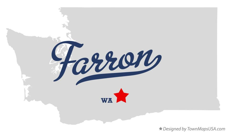 Map of Farron Washington WA