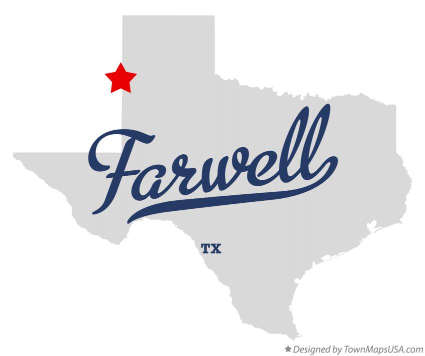 Map of Farwell Texas TX