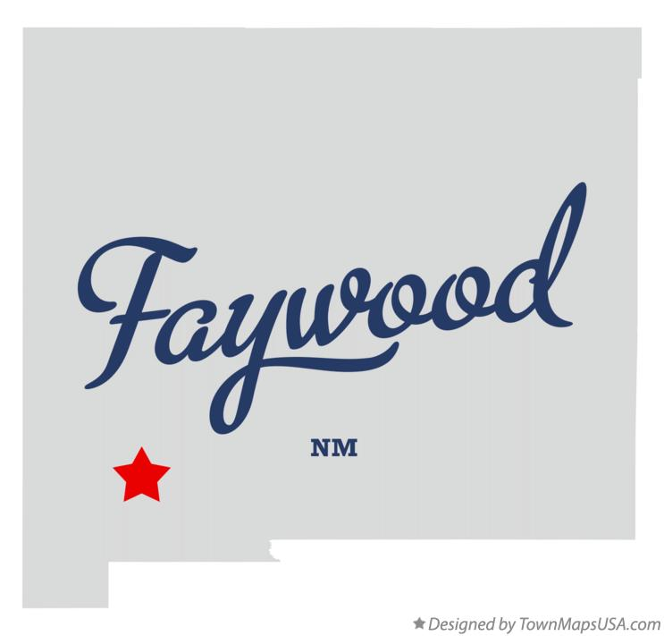 Map of Faywood New Mexico NM