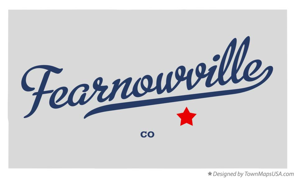 Map of Fearnowville Colorado CO