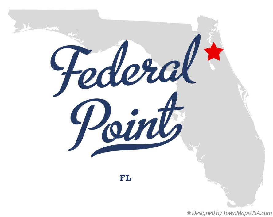 Map of Federal Point Florida FL