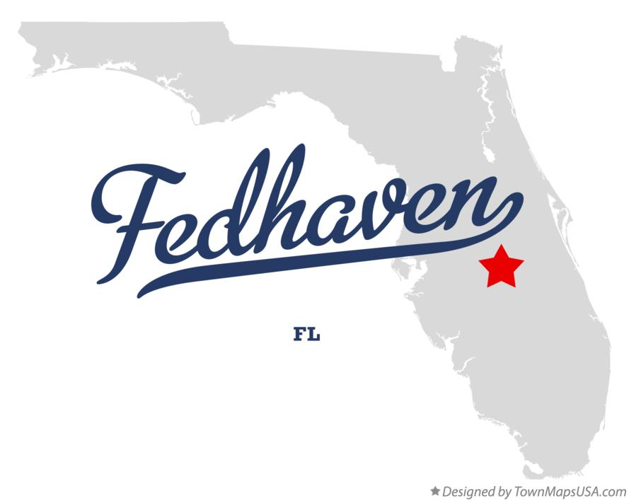 Map of Fedhaven Florida FL