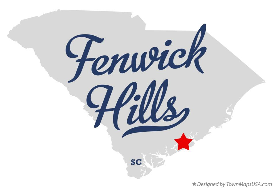 Map of Fenwick Hills South Carolina SC