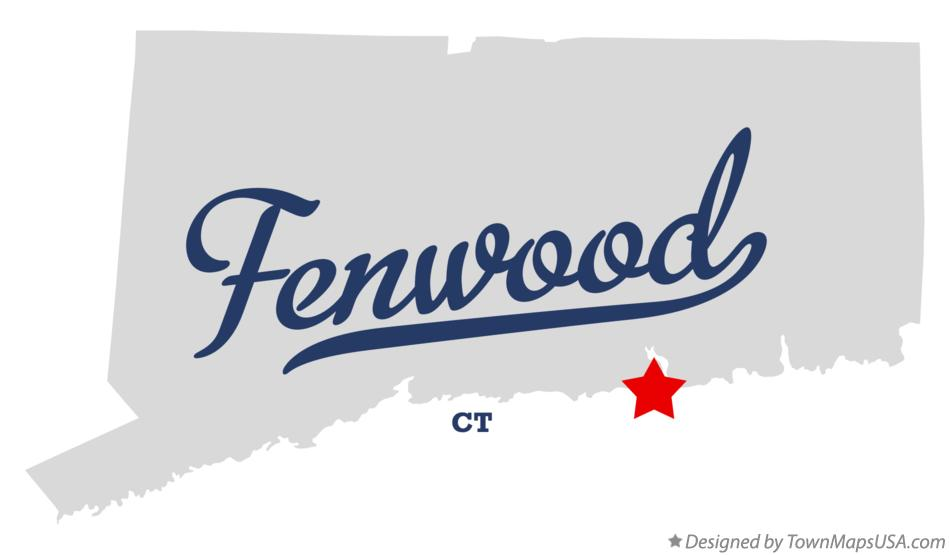 Map of Fenwood Connecticut CT