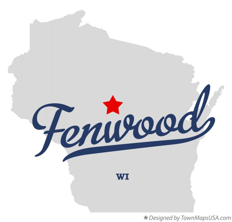 Map of Fenwood Wisconsin WI