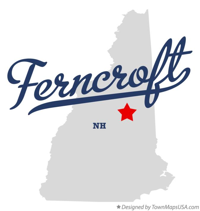 Map of Ferncroft New Hampshire NH