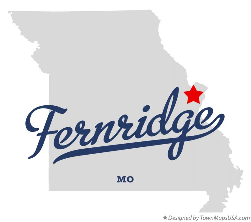 Map of Fernridge Missouri MO