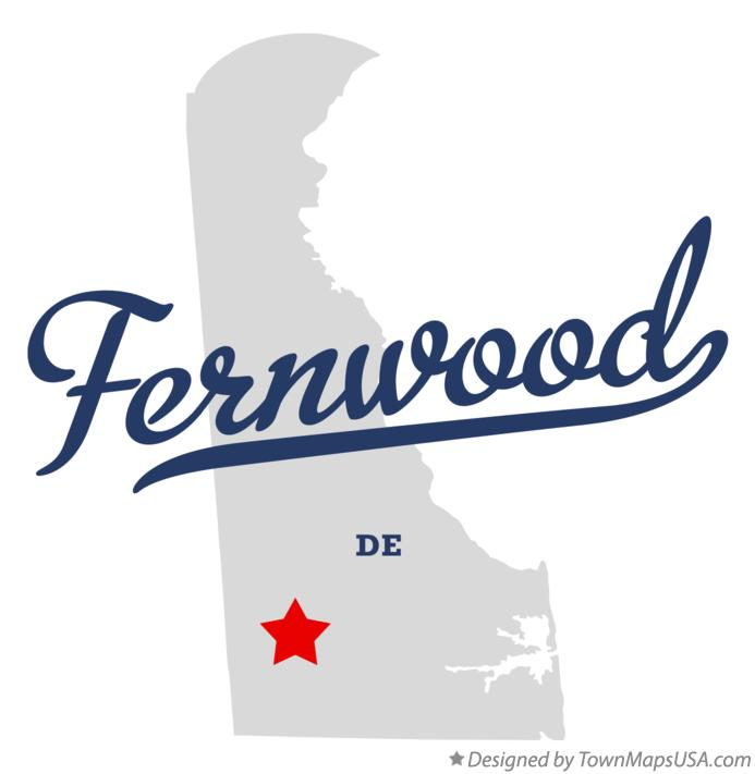 Map of Fernwood Delaware DE