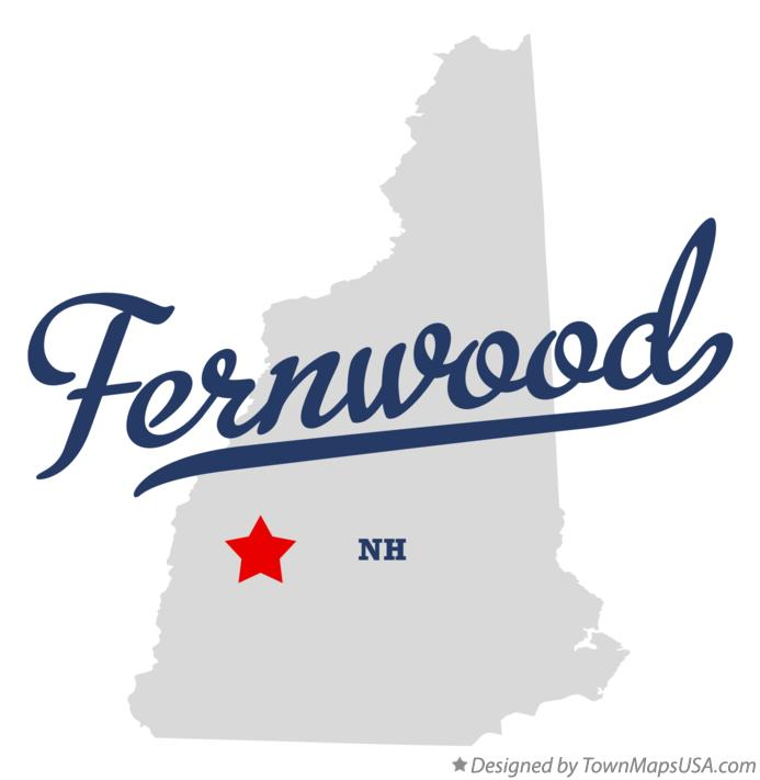Map of Fernwood New Hampshire NH