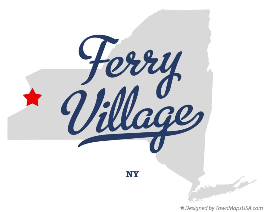 Map of Ferry Village New York NY