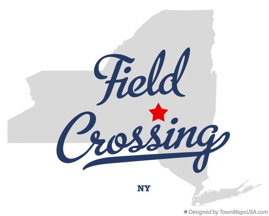 Map of Field Crossing New York NY