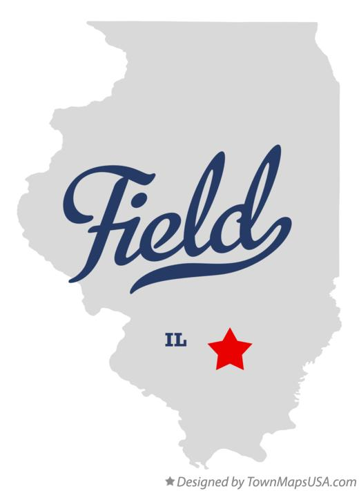 Map of Field Illinois IL