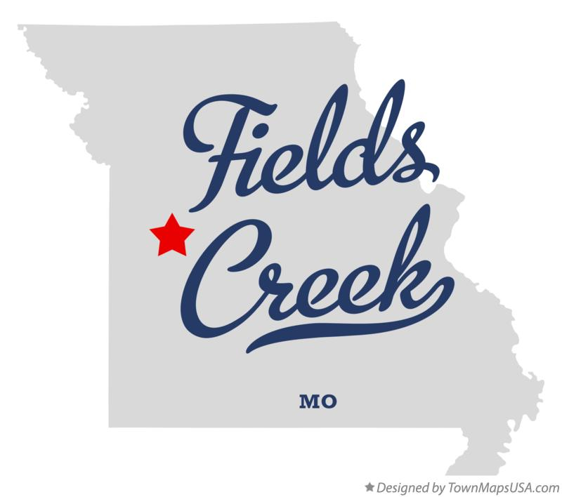 Map of Fields Creek Missouri MO
