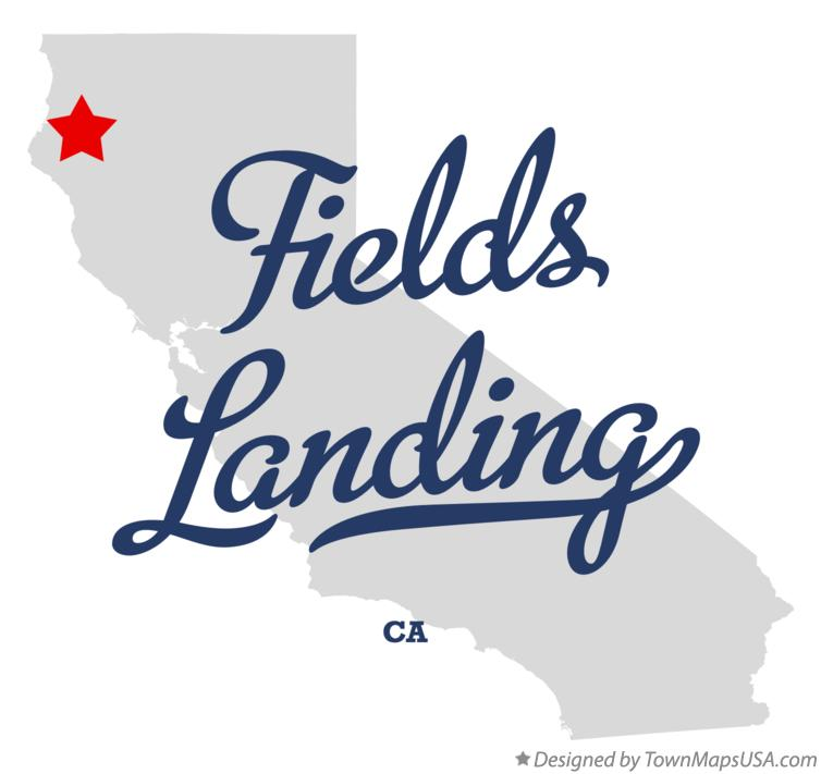 Map of Fields Landing California CA