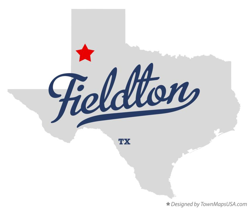 Map of Fieldton Texas TX