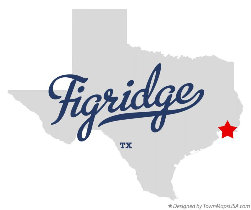 Map of Figridge Texas TX
