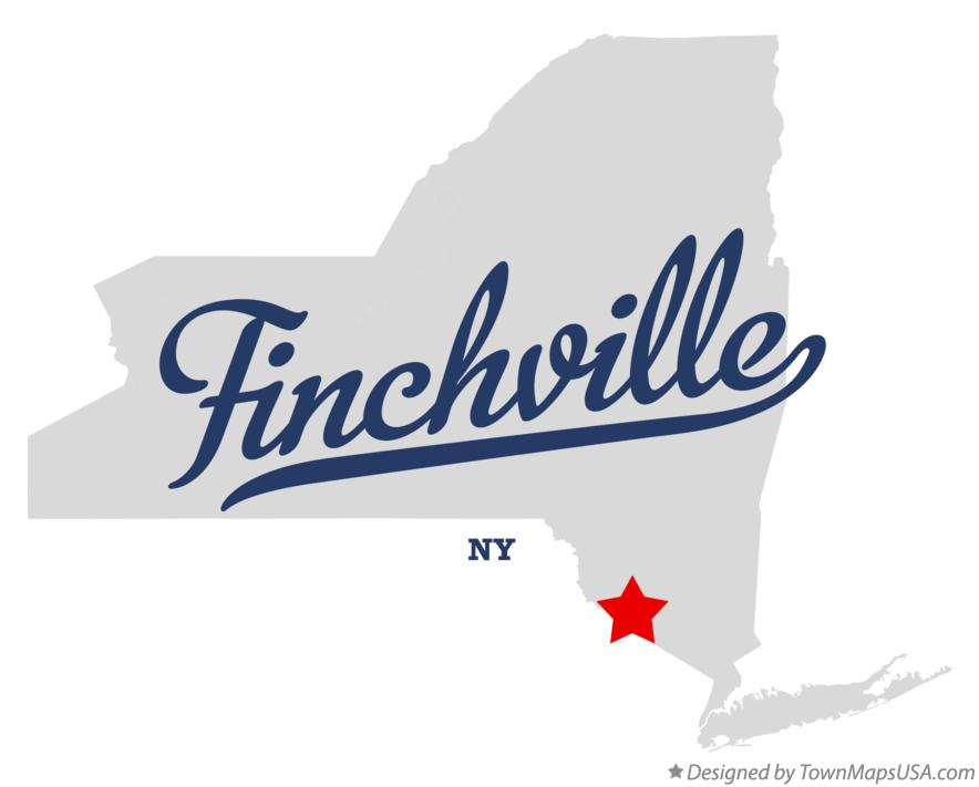 Map of Finchville New York NY