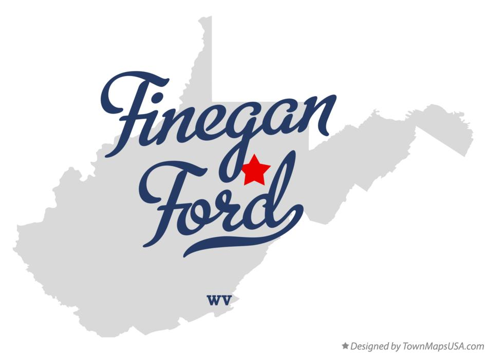 Map of Finegan Ford West Virginia WV