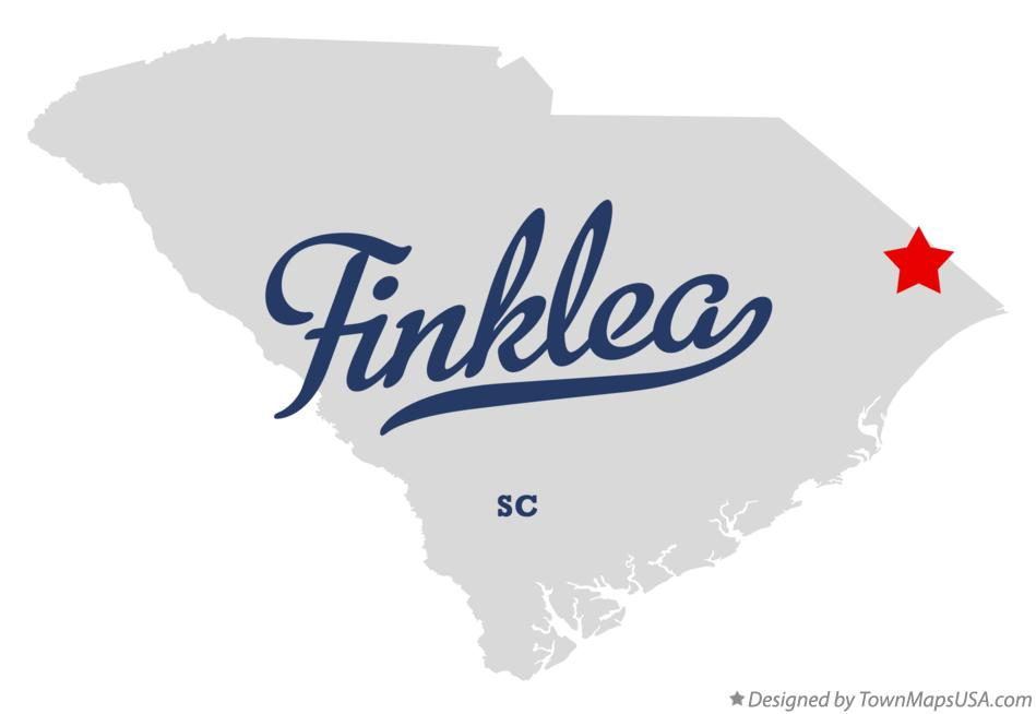 Map of Finklea South Carolina SC