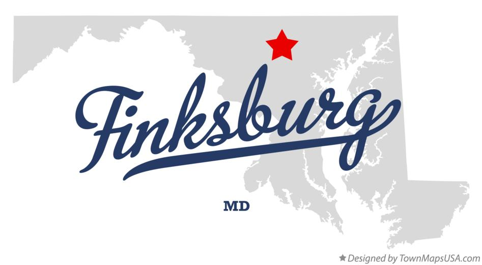 Map of Finksburg Maryland MD