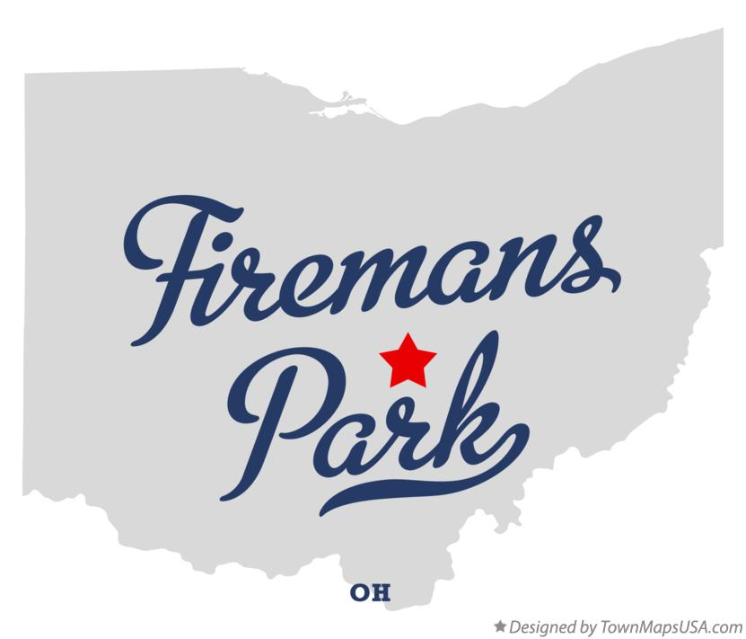Map of Firemans Park Ohio OH