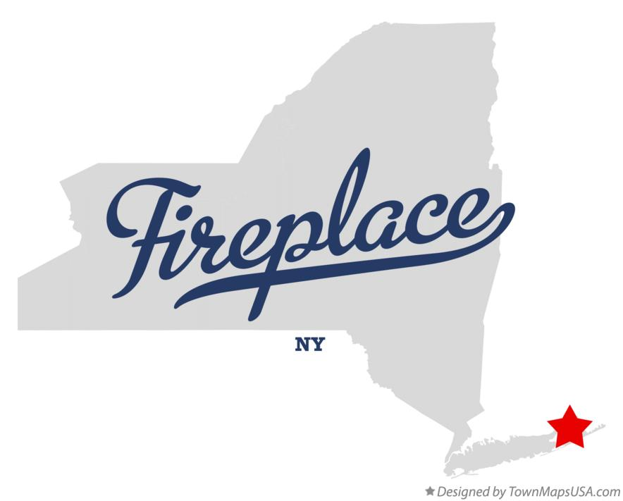 Map of Fireplace New York NY