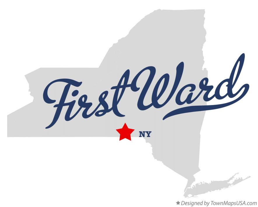 Map of First Ward New York NY
