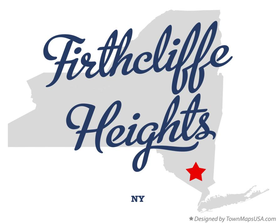 Map of Firthcliffe Heights New York NY