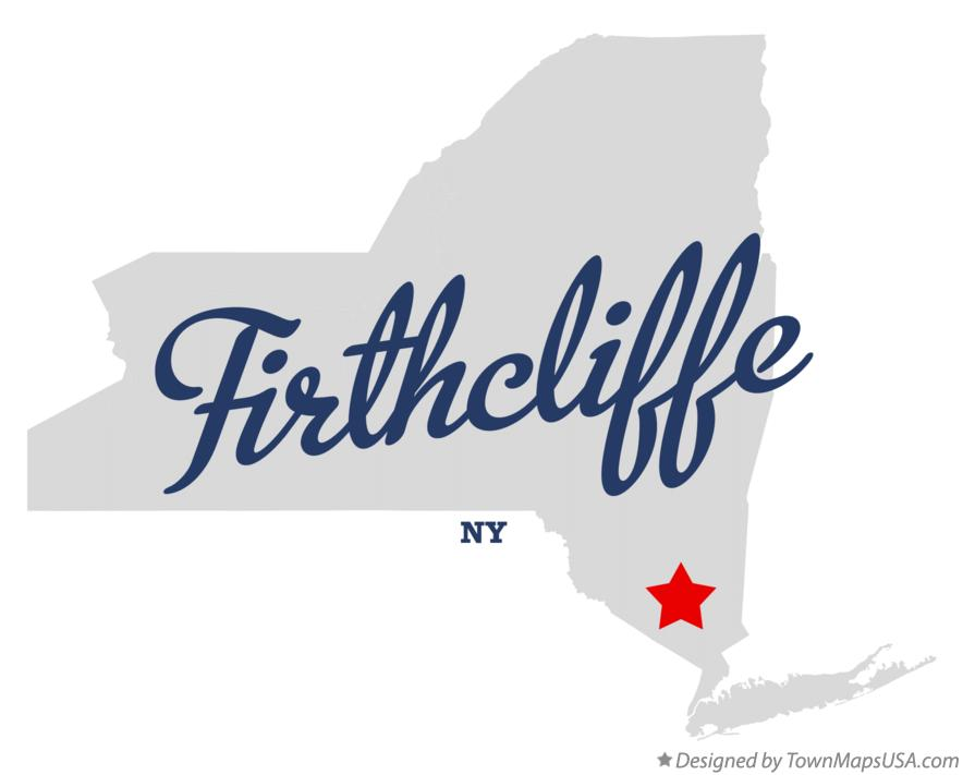Map of Firthcliffe New York NY