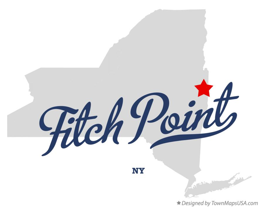 Map of Fitch Point New York NY